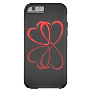 Love hearts. tough iPhone 6 case