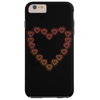 Love hearts. tough iPhone 6 plus case