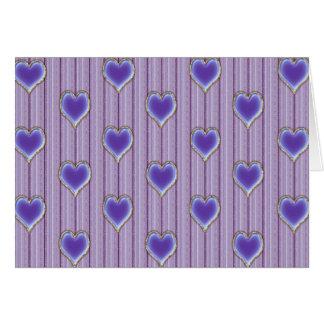 Love Hearts Valentine Card