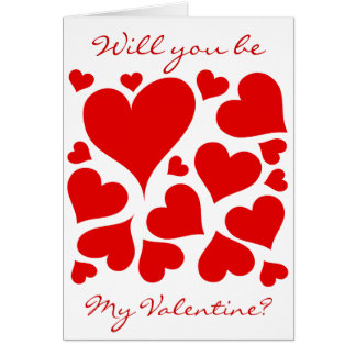 Love hearts, Valentine gifts Greeting Card