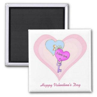 Love Hearts Valentine Magnet