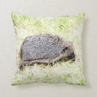 Love Hedgehogs Throw Pillow