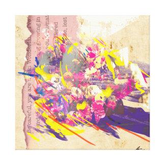 Love Hides Canvas Print
