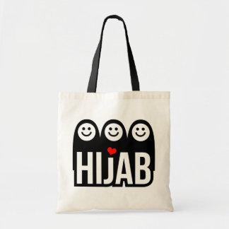 Love Hijab Tote Bag