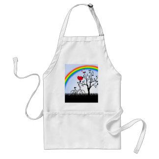 Love hill adult apron
