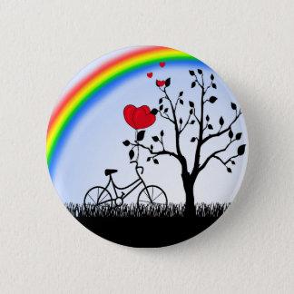 Love hill pinback button