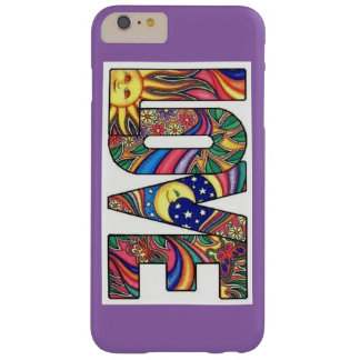 LOVE Hippie Style iPhone 6/6s Plus, Barely There Barely There iPhone 6 Plus Case