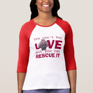 Love Hippopotamus Rescue It T-shirt