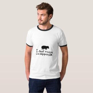 Love Hippos Funny Hippopotamus Loverss Fiona Baby T-Shirt