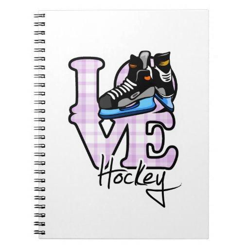 Love Hockey Notebook