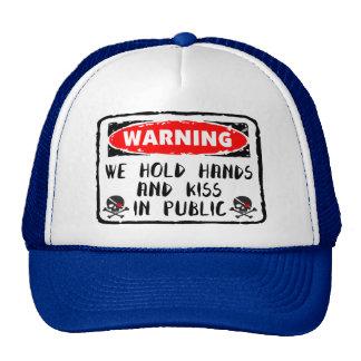 Love Hold Hands Trucker Hat