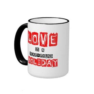 Love Holiday mug