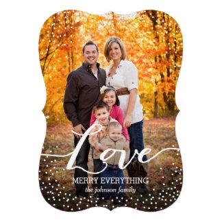 Love Holiday Photo Card