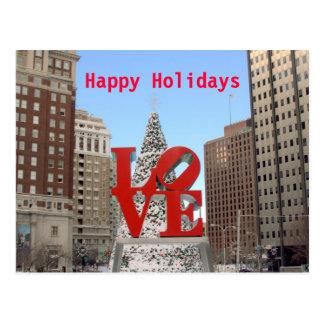 Love Holiday Post Card