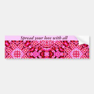 Love & Holidays_ Car Bumper Sticker