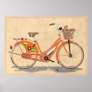 Love Holland, Love Bike Poster