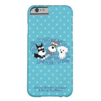 Love, Home - Polkadot Schnauzer Cell Phone Case