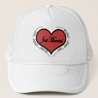 love honor cherish trucker hat