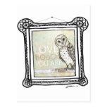 love hoo postcard