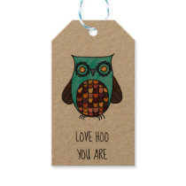 Love Hoo you Are Gift Tags