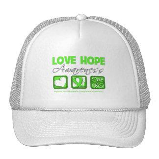 Love Hope Awareness Non-Hodgkin's Lymphoma Trucker Hat