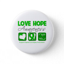 Love Hope Awareness Spinal Cord Injury Button