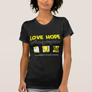 Love Hope Awareness Suicide Prevention Tee Shirts