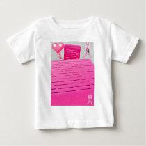 Love & Hope_ Baby T-Shirt
