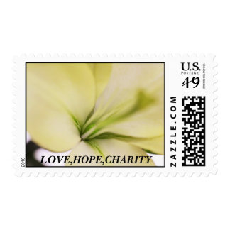 LOVE,HOPE,CHARITY Postage