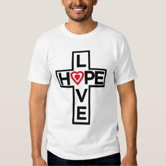 Love Hope Cross T-Shirt