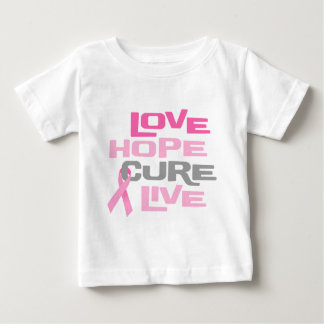 Love Hope Cure Live Baby T-Shirt