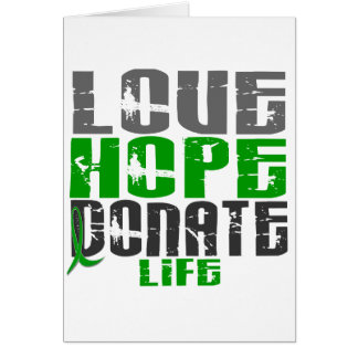 LOVE HOPE DONATE LIFE T-Shirts Gifts Apparel Cards