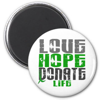 LOVE HOPE DONATE LIFE T-Shirts, Gifts, & Apparel Refrigerator Magnets