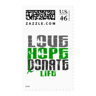 LOVE HOPE DONATE LIFE T-Shirts Gifts Apparel Stamp