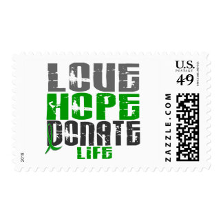 LOVE HOPE DONATE LIFE T-Shirts, Gifts, & Apparel Postage