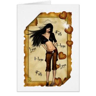 Love,Hope,Fate Card