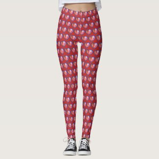 Love Hope Hearts Custom Valentine's Day Leggings