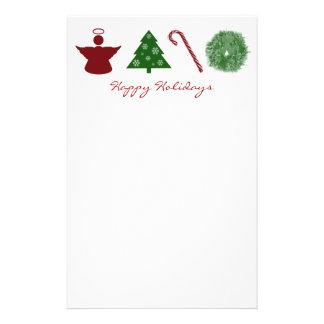 Love Hope Joy Peace Happy Holidays Stationery