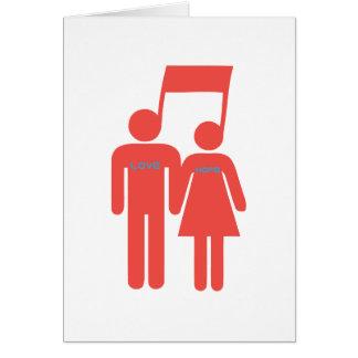 Love Hope Music Card
