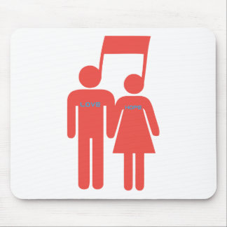 Love Hope Music Mouse Pad
