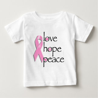 Love Hope Peace Breast Cancer Tees and Gifts