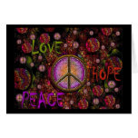 LOVE HOPE PEACE GREETING CARDS