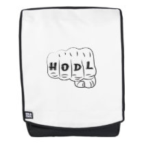 Love Hope Support Sarcoma Awareness Backpack