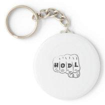 Love Hope Support Sarcoma Awareness Keychain