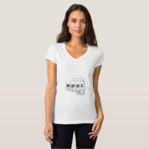Love Hope Support Sarcoma Awareness T-Shirt
