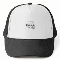 Love Hope Support Sarcoma Awareness Trucker Hat