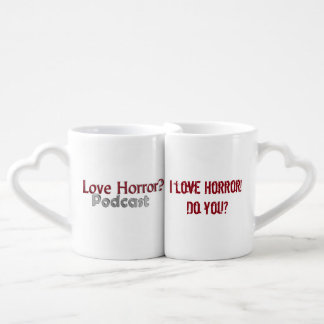love Horror? Podcast Nesting Love Mugs