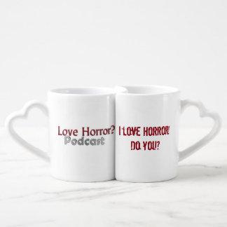 love Horror? Podcast Nesting Love Mugs Lovers Mugs