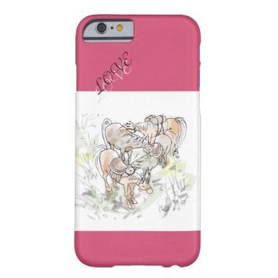 Love horse barely there iPhone 6 case