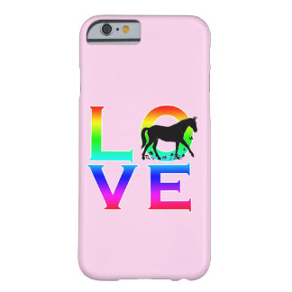 LOVE: Horses Barely There iPhone 6 Case